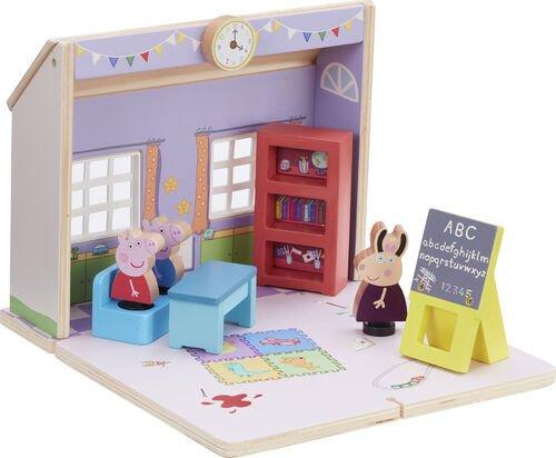 Peppa Pig - Wooden School w. 3 Figures (20-00113)