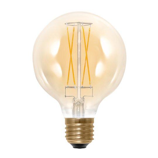LED-globe-lamppu E27 G95 6W 2 000K 325 lm kulta