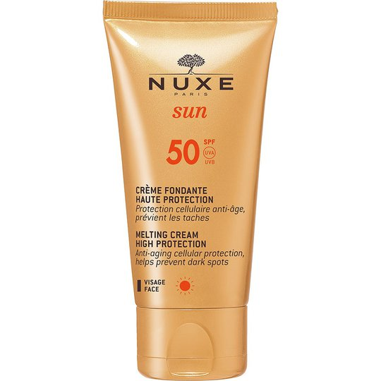 NUXE Sun Melting Cream For Face SPF 50, 50 ml Nuxe Kasvojen aurinkotuotteet