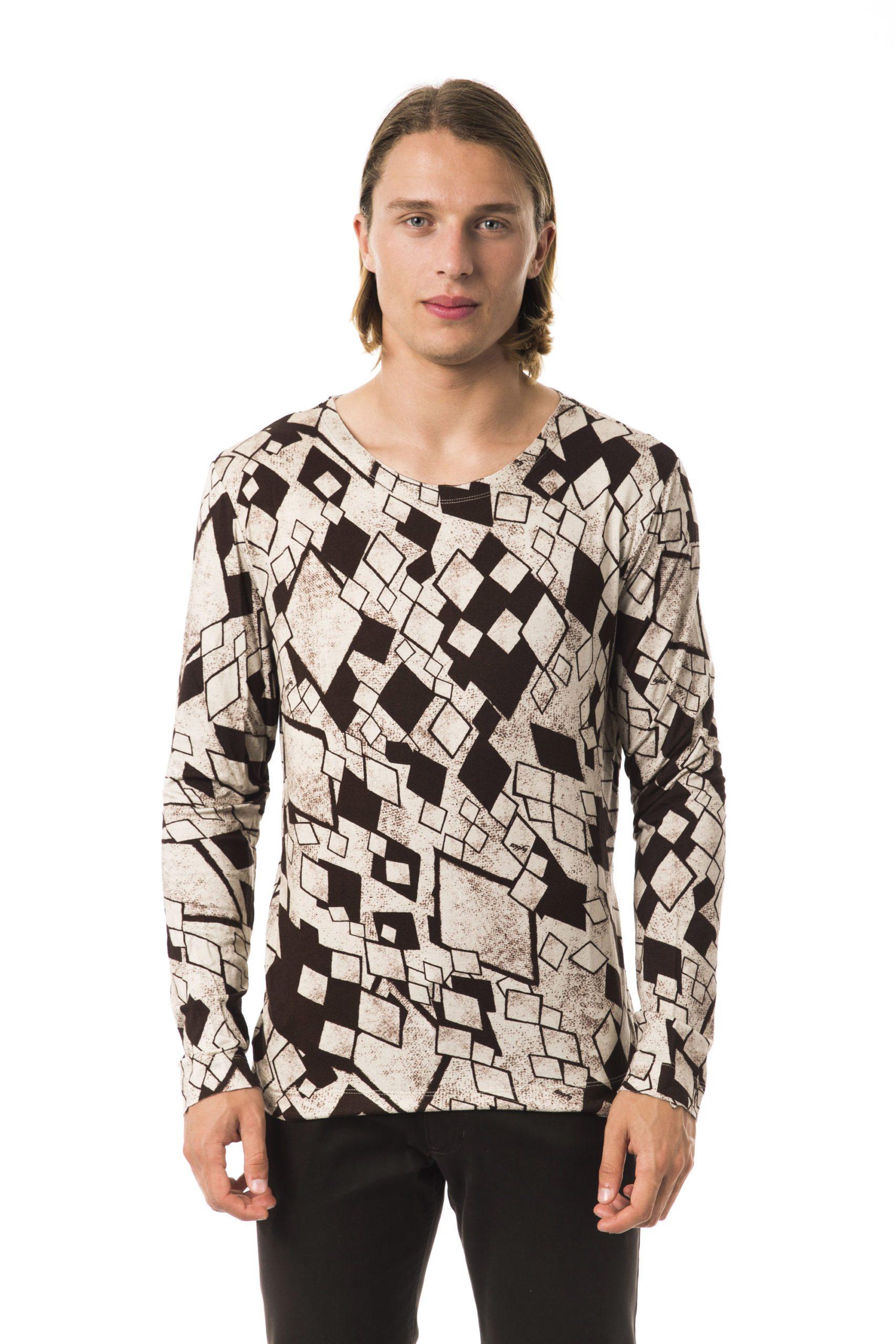 BYBLOS Men's Cartone T-Shirt Beige BY679450 - S