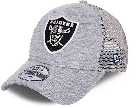 New Era LV Raiders Home Field Trucker Caps, Grey, 4-6 Jahre