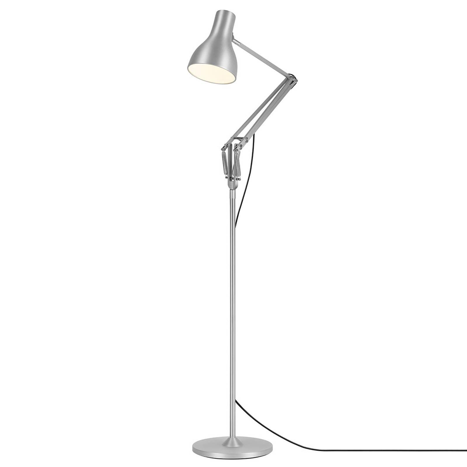 Anglepoise Type 75 gulvlampe sølv