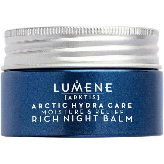 Arctic Hydra Care Moisture & Relief Rich Night Balm, 50 ml Lumene Yövoiteet