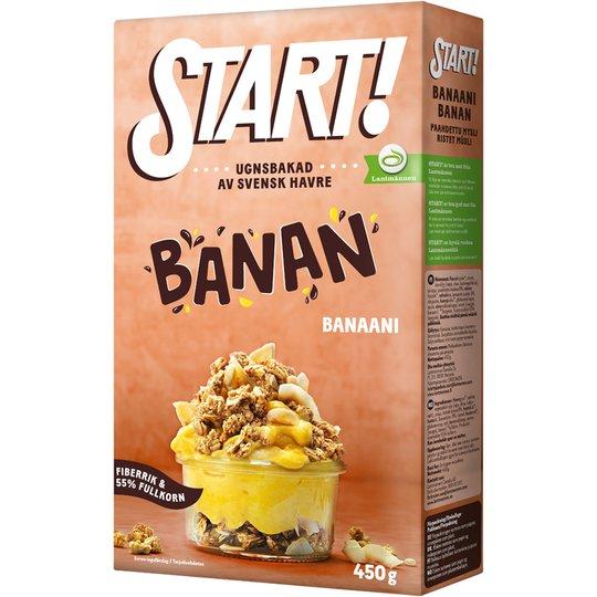 Kauramysli Banaani & Kookos - 31% alennus