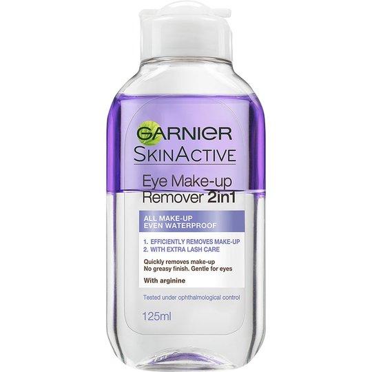 Skin Active Eye Makeup Remover 2in1, 125 ml Garnier Meikinpoistoaine