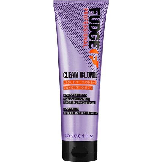 Clean Blonde Violet Toning Conditioner, 250 ml Fudge Hoitoaine