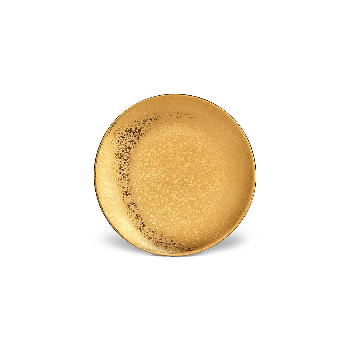 L'Objet I Alchimie Dessert Plate Gold
