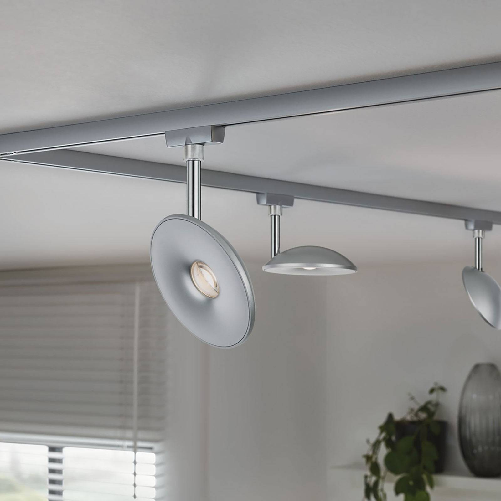 Paulmann URail LED-Spot Eye, mattakromi