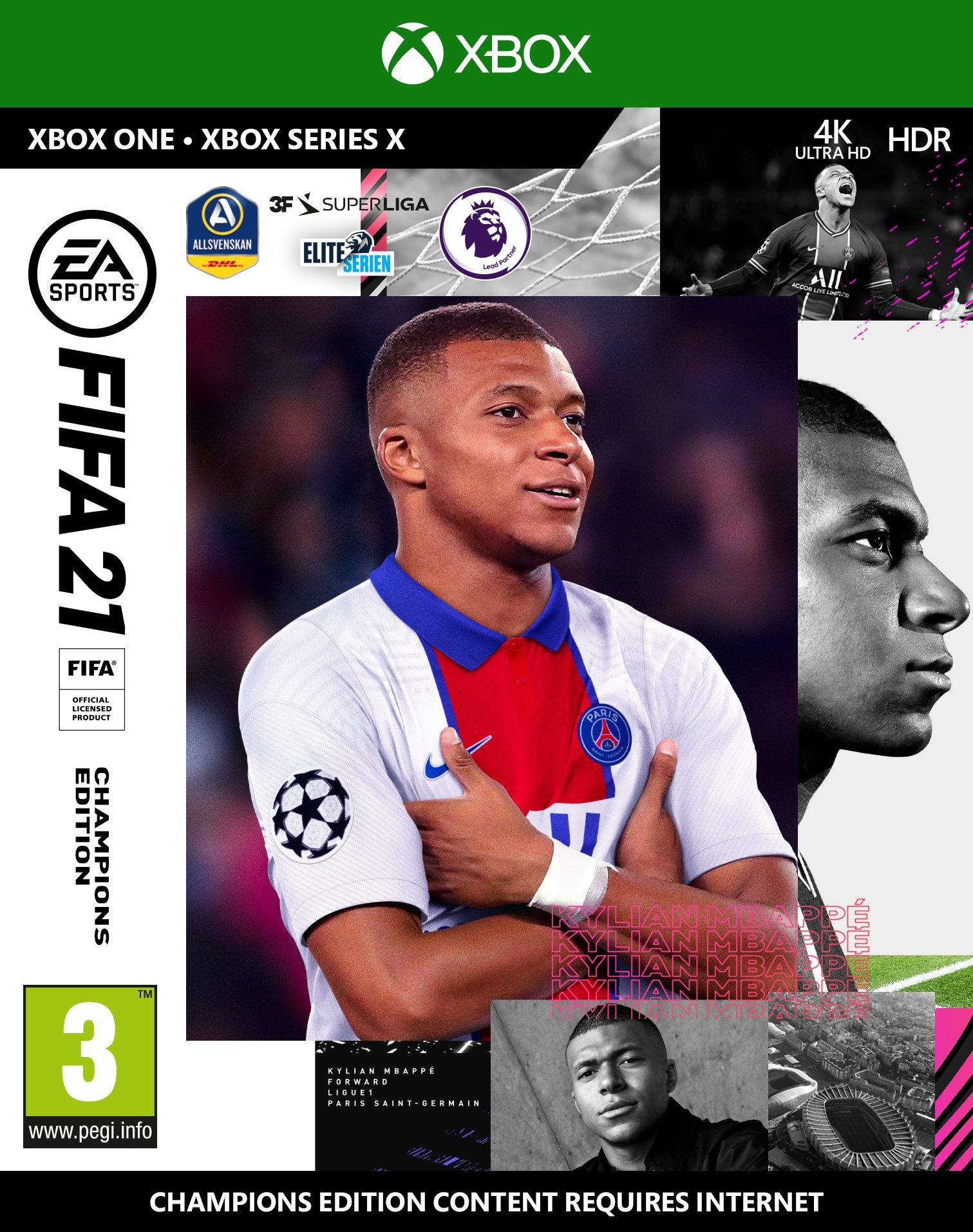 FIFA 21 (Nordic) Champions Edition - Includes XBOX Series X Version