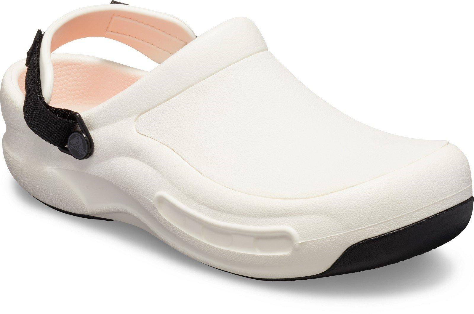 Crocs Unisex Bistro Pro Literide Clog Slip On Sandal Various Colours 28785 - White 6