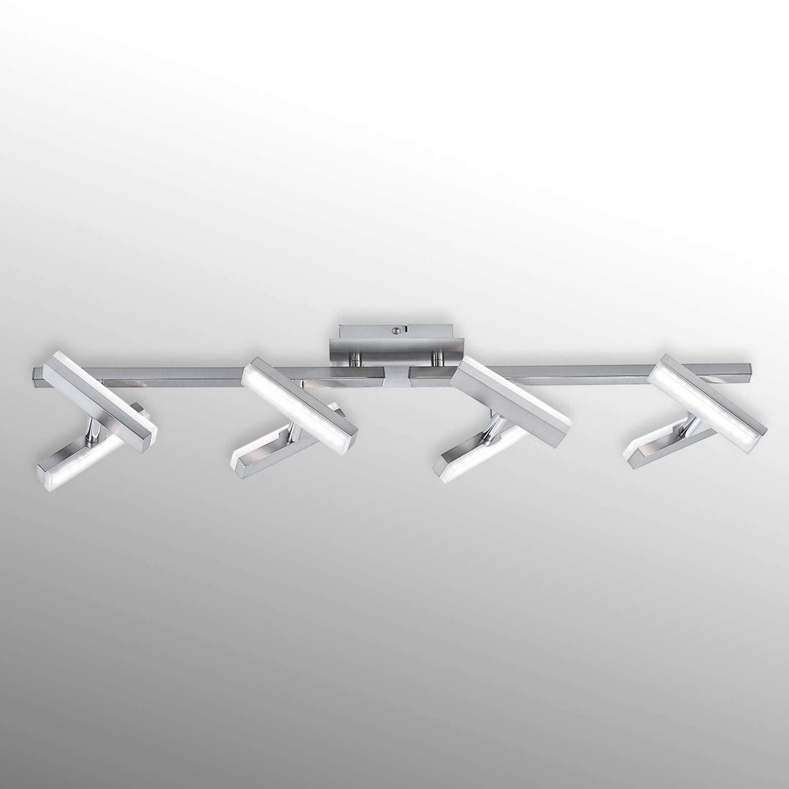 Praktisk LED-taklampe Rico, 8-arm.