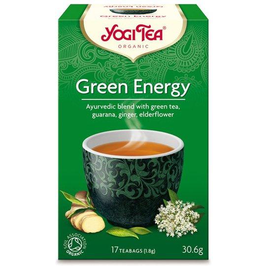 Yogi Tea Green Energy, 17 påsar