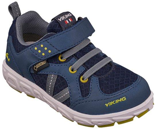 Viking Alvdal R GTX Sportsko, Denim/Lime 21
