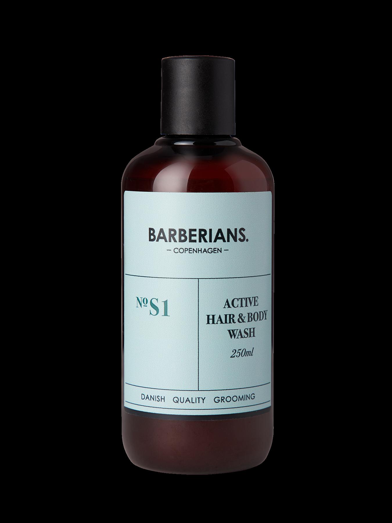 Barberians Copenhagen - Active Hair & Body Wash 250 ml