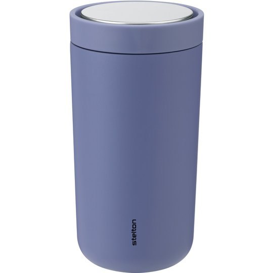Stelton To Go Click Steel termosmugg 0,2 liter, lupin