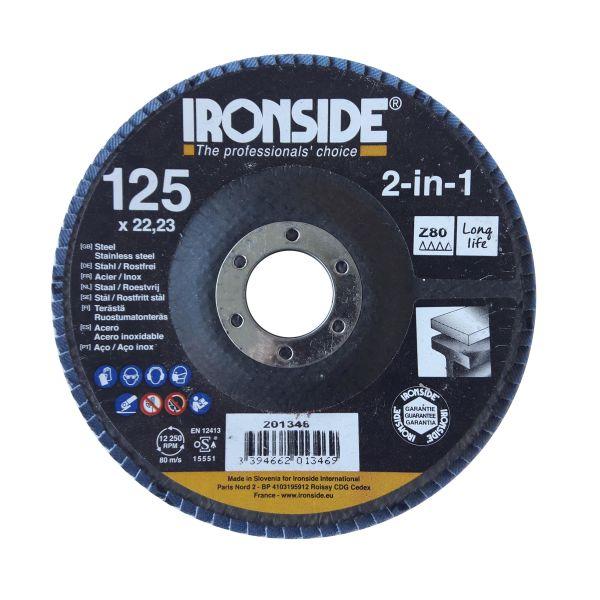 Ironside 201346 Lamellrondell 125 mm Z80