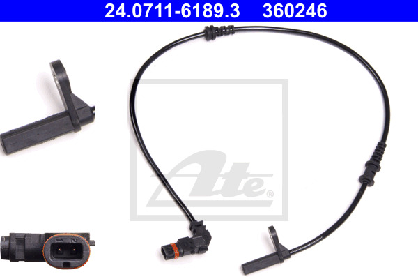 ABS-anturi ATE 24.0711-6189.3