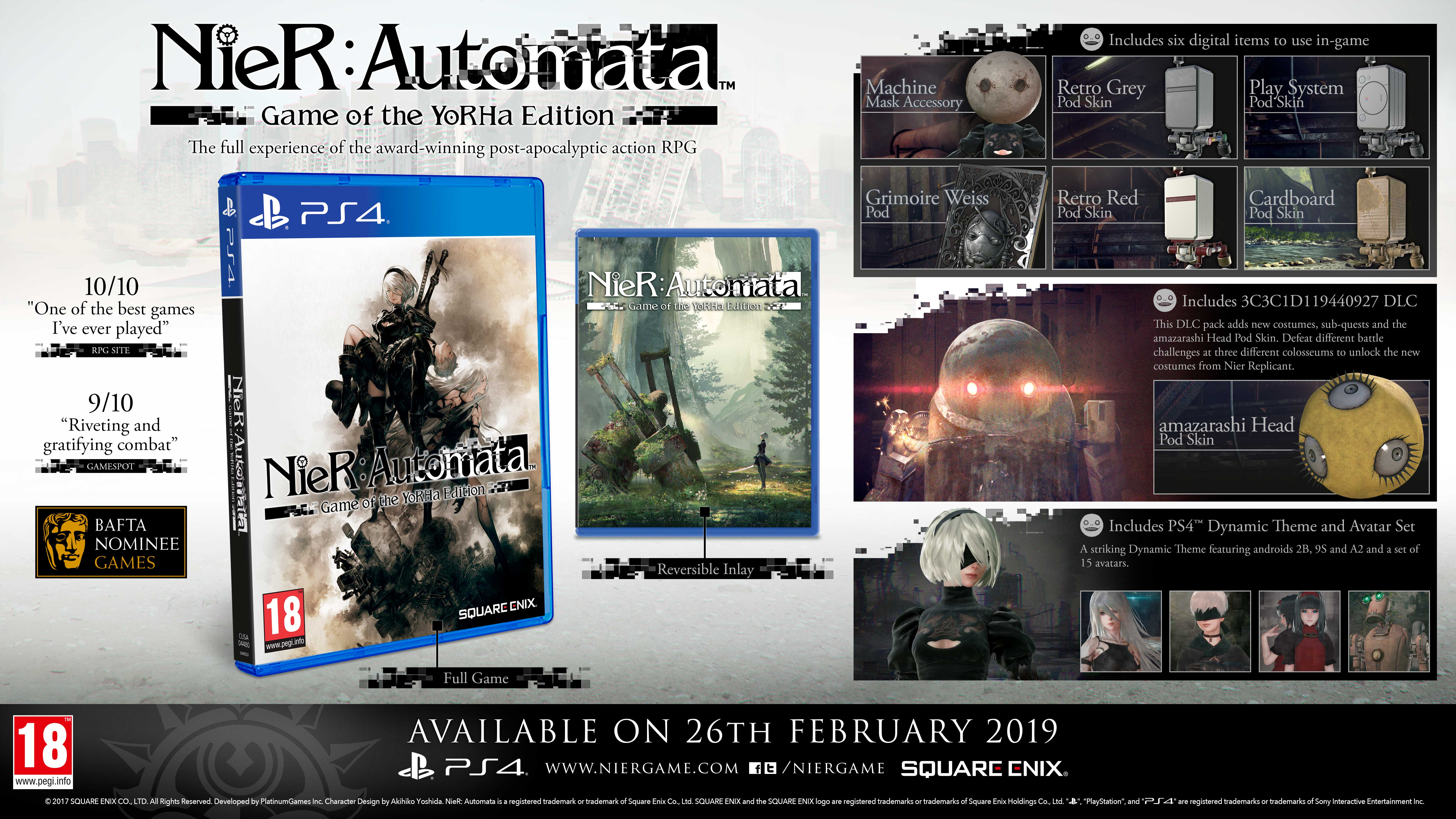 NieR: Automata (Game of the Year)