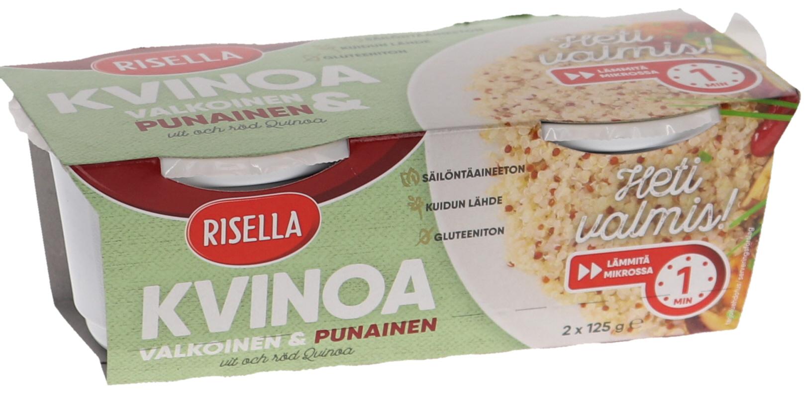 Heti Valmis Valkoinen & Punainen Kvinoa - 18% alennus