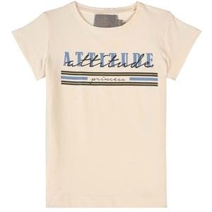 Creamie Attitude T-shirt Buttercream 110 cm (4-5 år)
