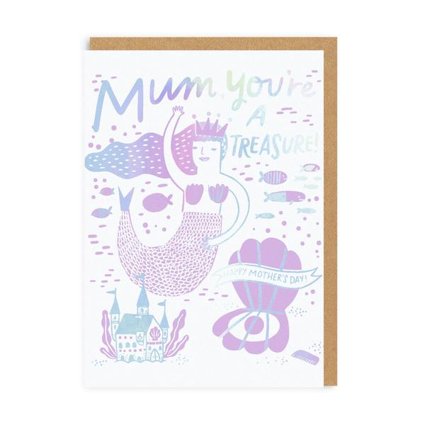Mum, You're A Treasure! Mother's Day Greeting Card