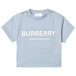 Burberry Logo T-Shirt Pale Blue 6 months