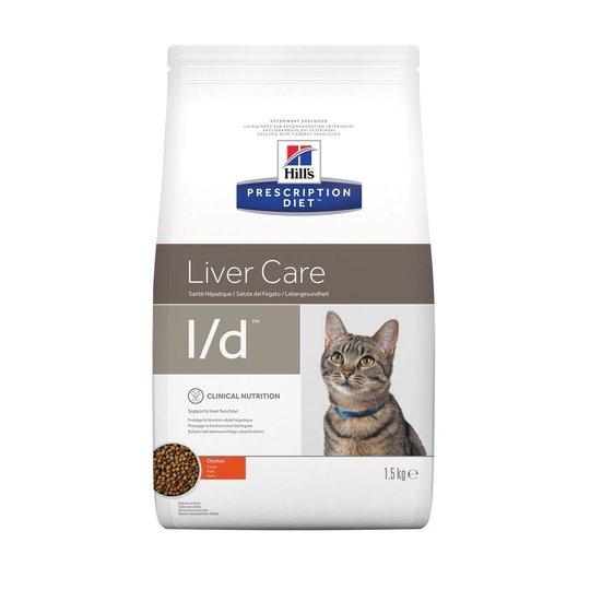 Hill's Prescription Diet Feline l/d Liver Care Chicken 1,5 kg