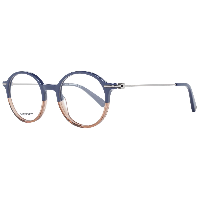 Dsquared² Men's Optical Frames Eyewear Blue DQ5286 50092