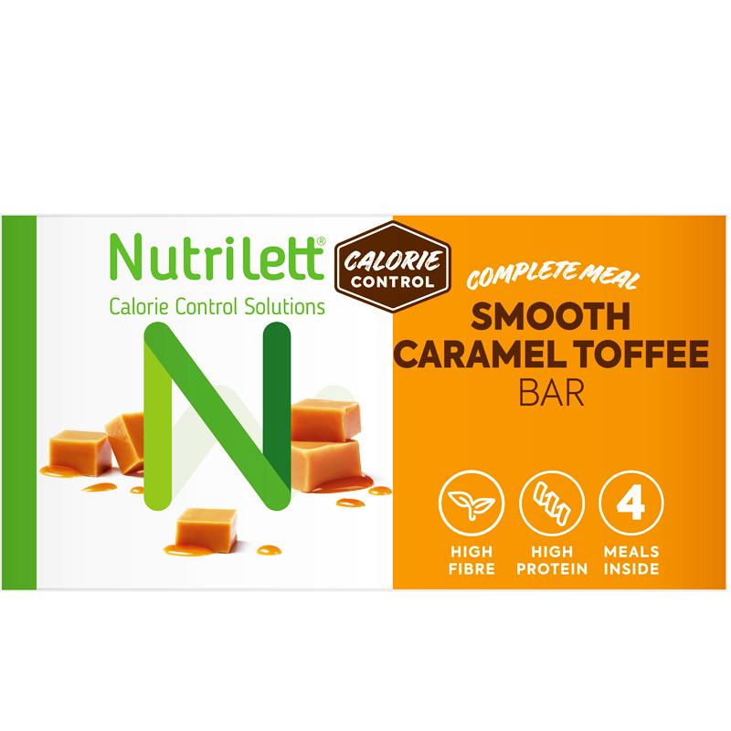 Måltidsersättningsbars Smooth Caramel 4-pack - 30% rabatt