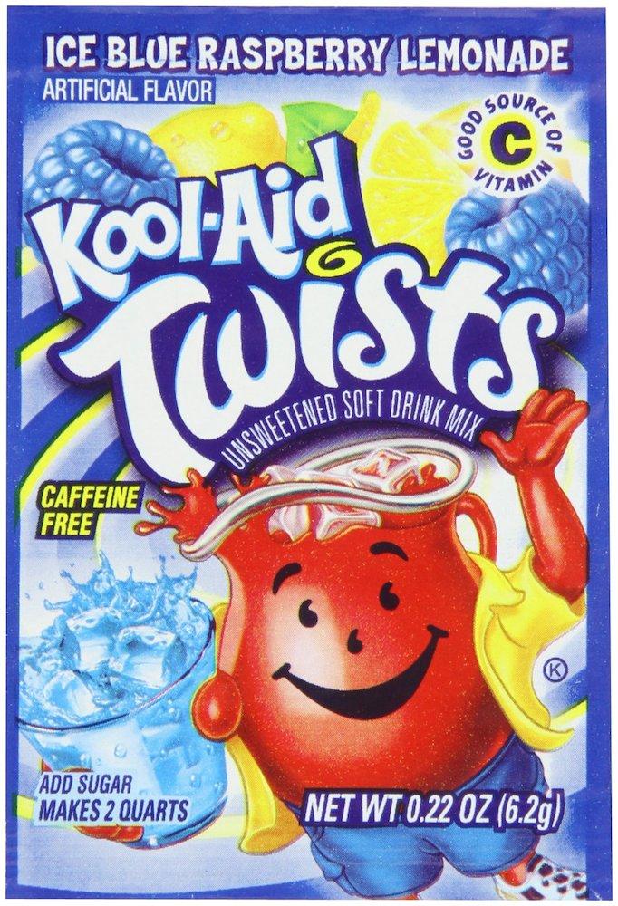 Kool-Aid Soft Drink Mix Blue Raspberry Lemonade