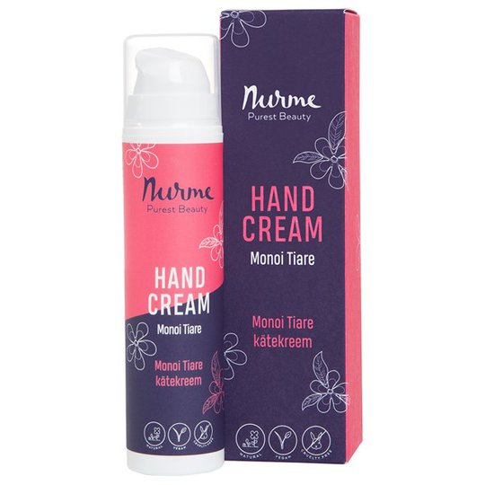 Nurme Hand Cream Monoi Tiare, 50 ml