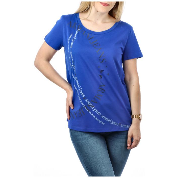 Armani Jeans Women's T-Shirt Blue 271619 - blue XXL