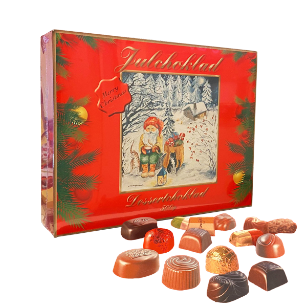 Julchoklad Praliner 500g