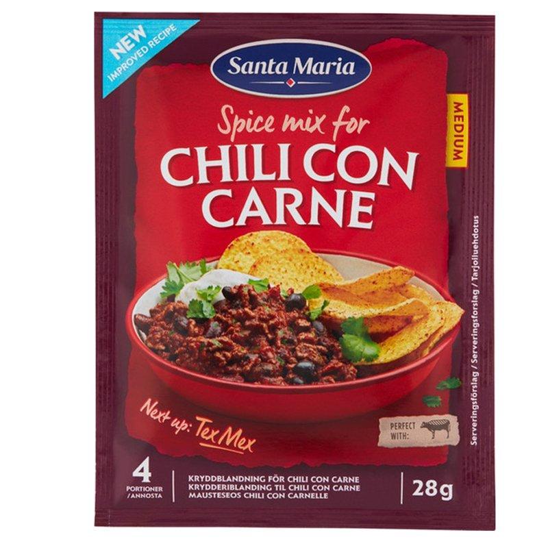 "Mausteseos ""Chili Con Carne"" 28g - 2% alennus"