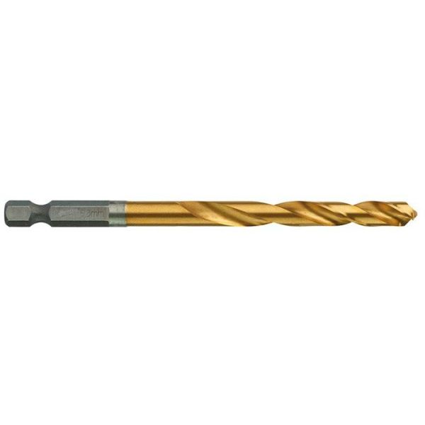 Milwaukee SHOCKWAVE Red Hex HSS-G TIN Metallbor 1-pakning 6,8 mm