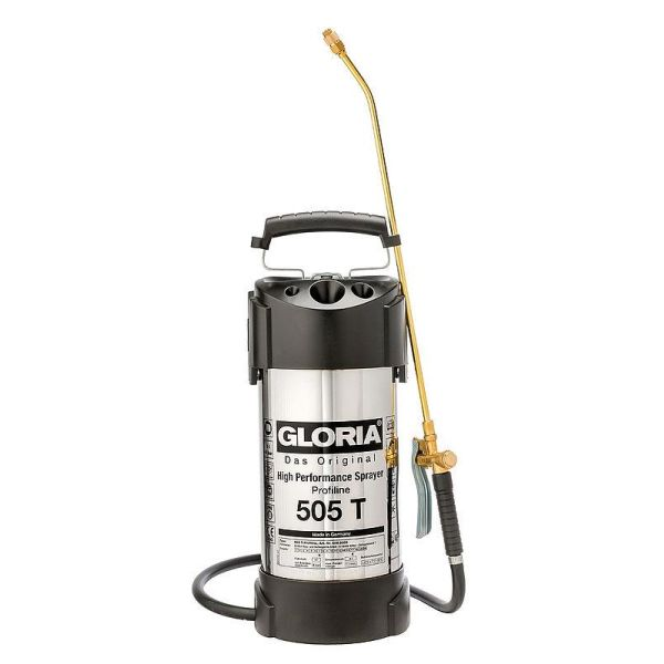 Gloria 505 T Konsentratsprøyte 5 l, rustfri
