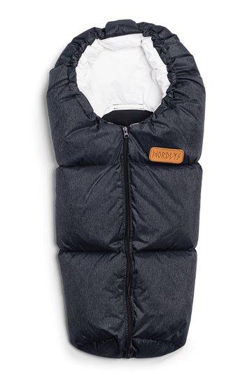 Nordlys Minivognpose Dun, Black Melange