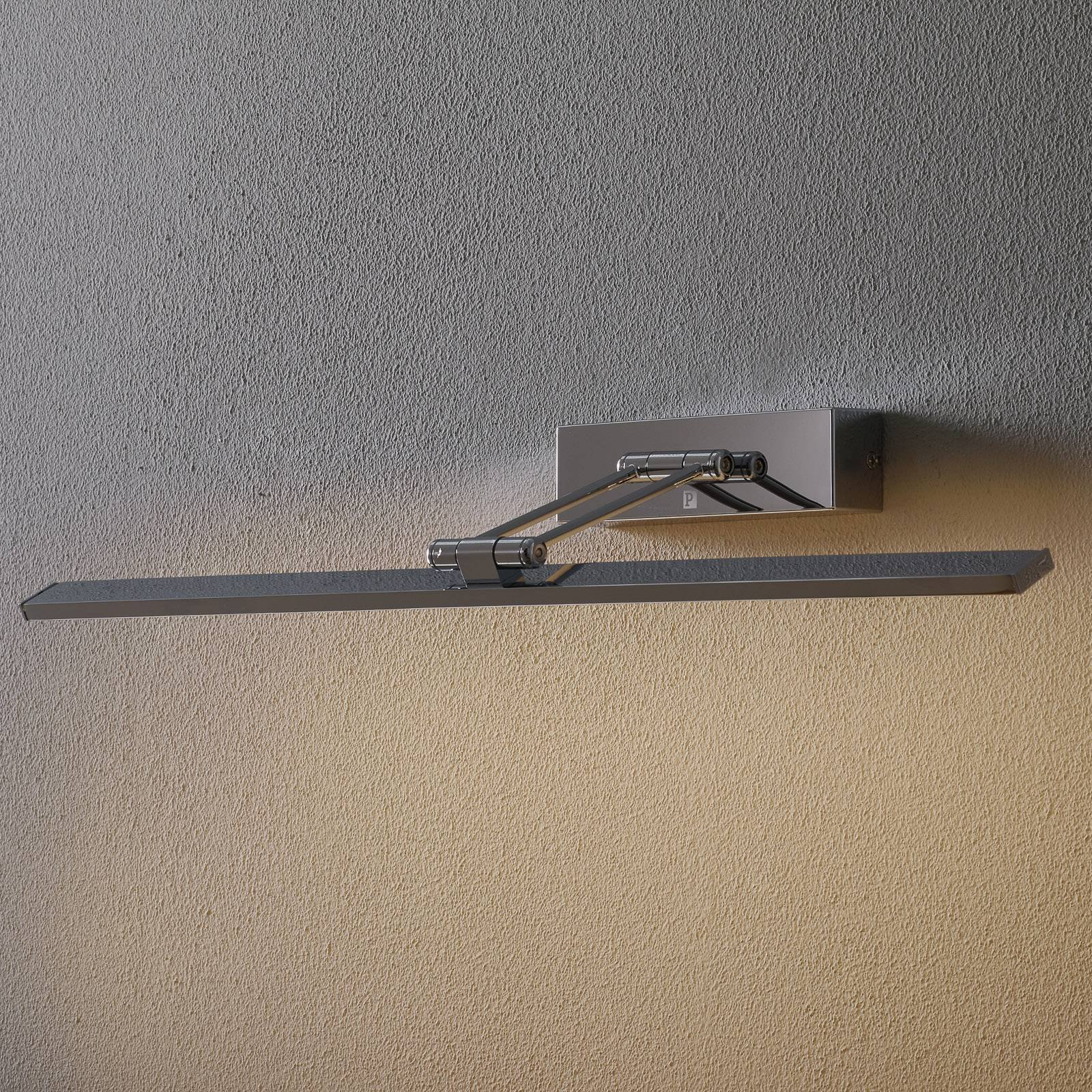 Forkromet Galeria LED-bildelampe Beam Sixty