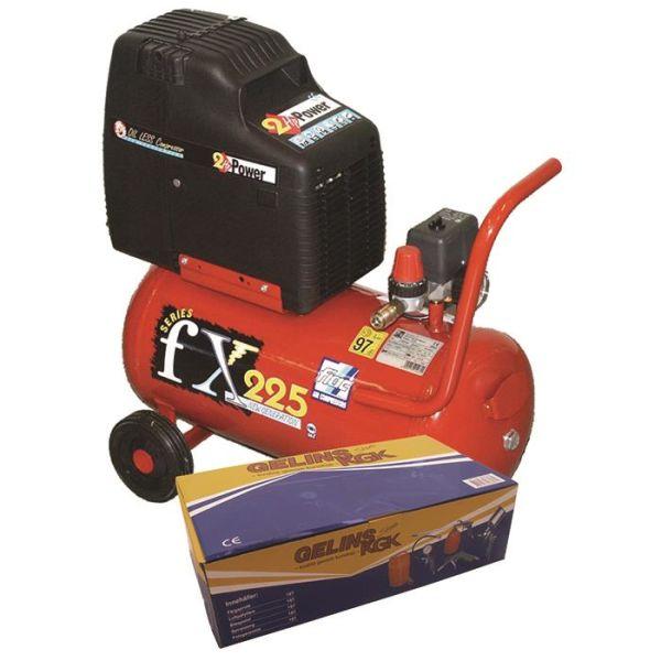 Fiac FX225 Kit Kompressor med tilbehørssett