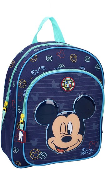 Disney Mikke Mus Be Kind Ryggsekk 8L, Blue