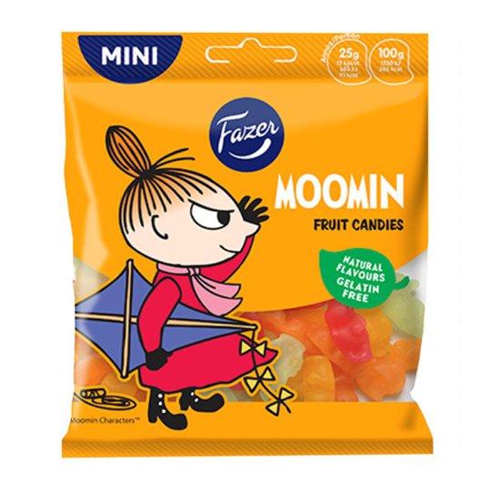 "Karkkipussi ""Moomin Fruit Candies"" 80g - 40% alennus"