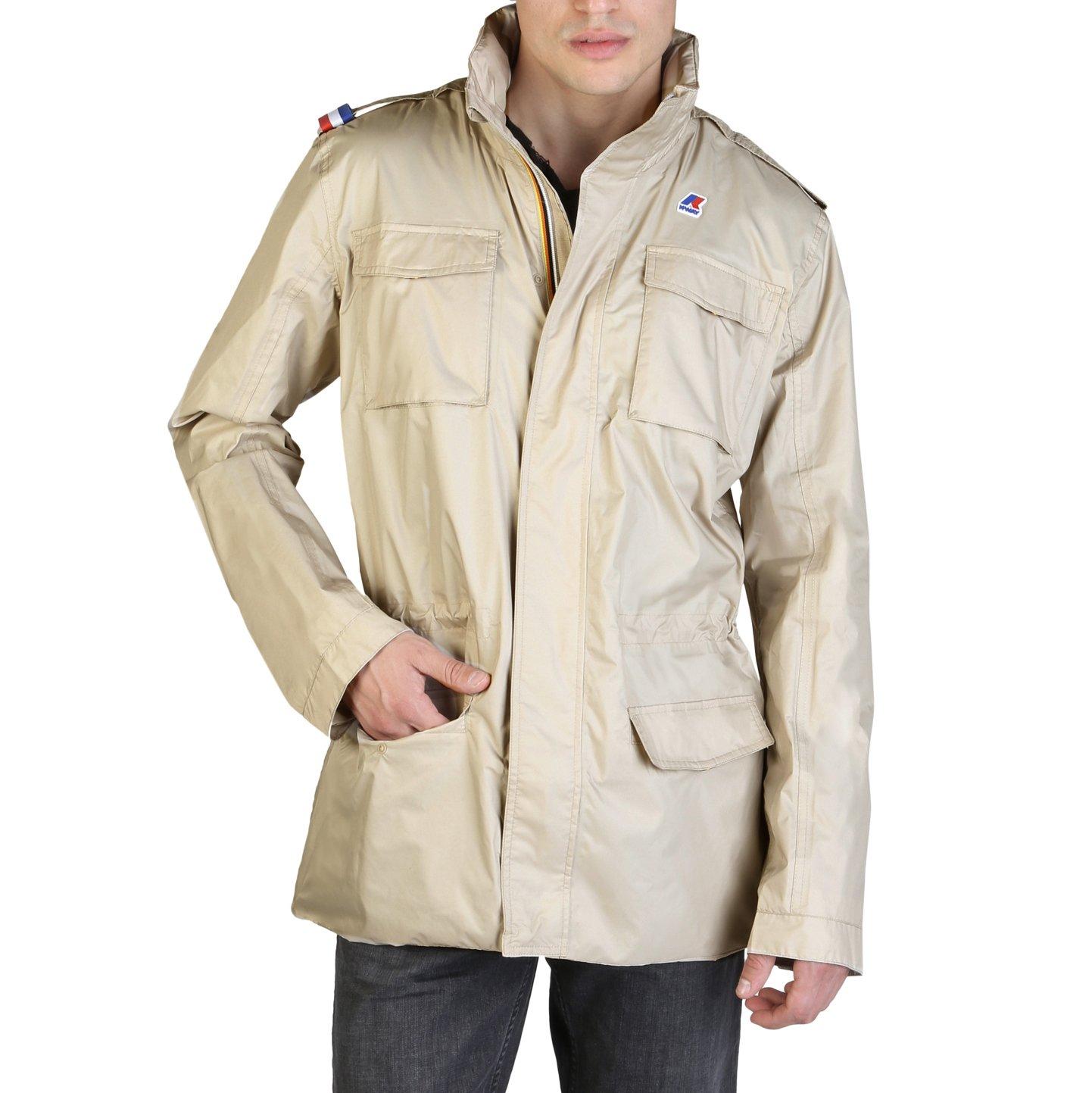 K-Way Men's Jacket Various Colours K007EA0 - brown M