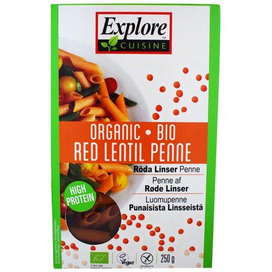 "Luomupenne ""Red Lentil Penne"" 250g - 29% alennus"