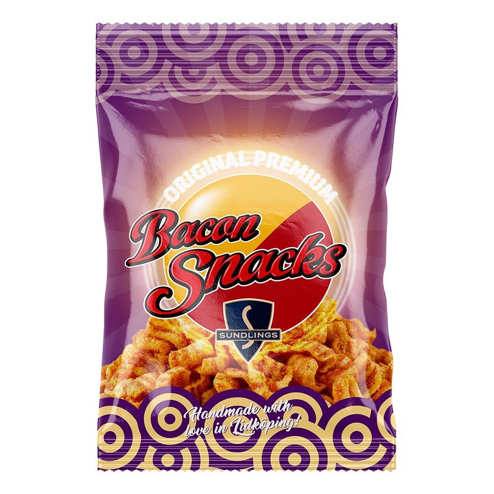 Sundlings Bacon Snacks - 20 g
