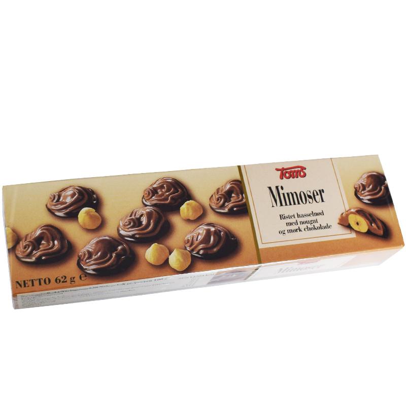 Mörk Choklad Haselnötter - 50% rabatt