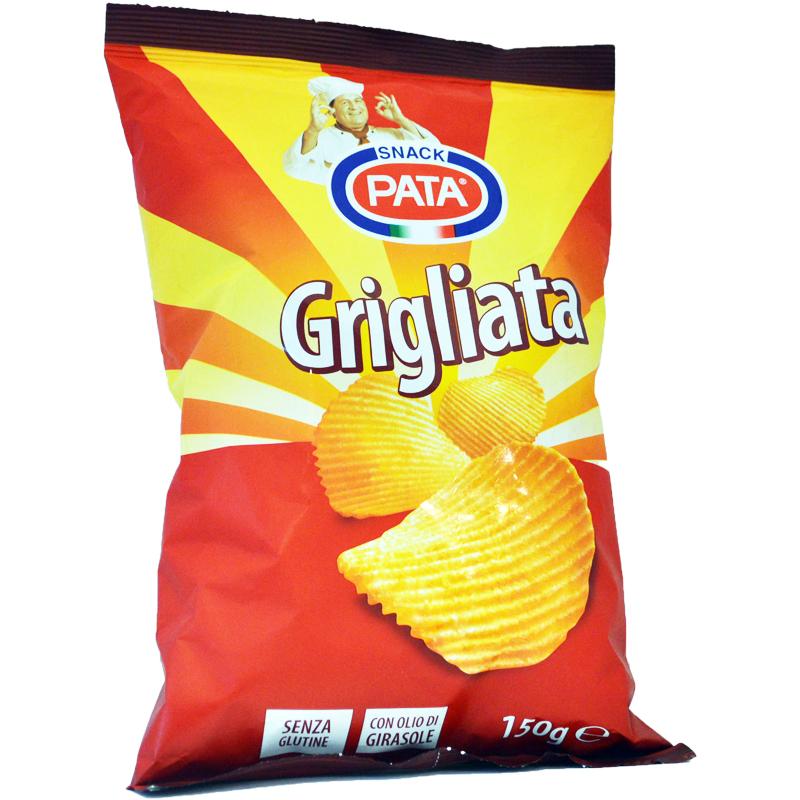 Chips Saltade Glutenfria 150g - 44% rabatt