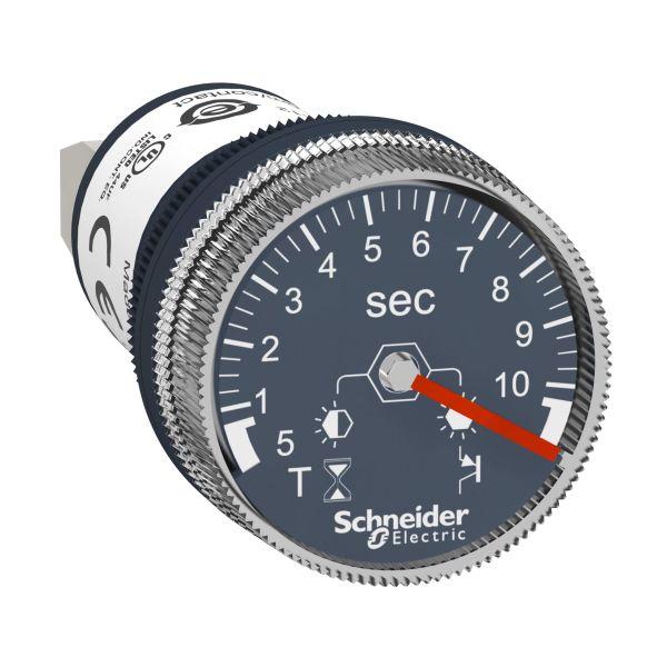 Schneider Electric XB5DTB22 Aikarele 22 mm, 24 V DC 0,5-10 s
