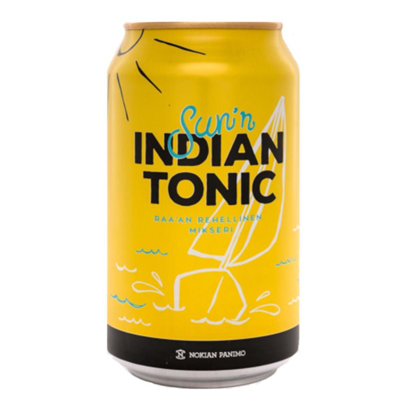 """Virvoitusjuoma """"Indian Tonic"""" 330ml - 34% alennus"""
