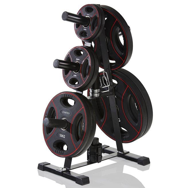 Gymstick Rack För Olympic Weight Plates, Ställning viktskivor