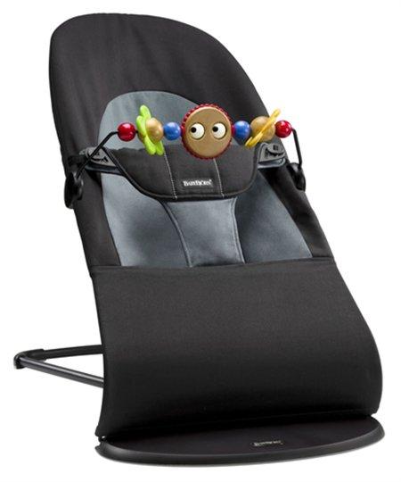 BabyBjörn Balance Soft Vippestol inkl. Treleke, Svart